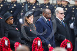 Remembrance Sunday at the Cenotaph 2015: The High Commissioner of Guyana, the High Commissioner of Singapore, the High Commissioner of Zambia, and the High Commissioner of Malta. Image #228, 08 November 2015 11:09 Whitehall, London, UK