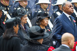 Remembrance Sunday at the Cenotaph 2015: The High Commissioner of the Seychelles, the High Commissioner of Papua New Guinea and the High Commissioner of Grenada. Image #234, 08 November 2015 11:09 Whitehall, London, UK