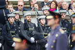 Remembrance Sunday at the Cenotaph 2015: A part of the Royal Navy detachment, here from the Commander Portsmouth Flotilla (COMPORFLOT). Image #265, 08 November 2015 11:12 Whitehall, London, UK
