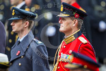 Remembrance Sunday at the Cenotaph 2015: Major‐General Hans van der Louw, equerry to HM The King of the Netherlands, Willem-Alexander. Image #266, 08 November 2015 11:12 Whitehall, London, UK