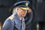 Remembrance Sunday at the Cenotaph 2015: General Sir Nicholas Carter, Chief of the General Staff , after laying his wreaths at the Cenotaph. Image #272, 08 November 2015 11:13 Whitehall, London, UK