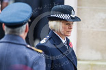Remembrance Sunday at the Cenotaph 2015: Miss Sara Thornton, National Police Chiefs' Council, after laying a wreath at the Cenotaph. Image #273, 08 November 2015 11:13 Whitehall, London, UK