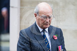 Remembrance Sunday at the Cenotaph 2015: Air Commodore John Lumsden (Air Transport Auxiliary Association) after laying the wreath at the Cenotaph. Image #274, 08 November 2015 11:13 Whitehall, London, UK
