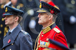 Remembrance Sunday at the Cenotaph 2015: Major‐General Hans van der Louw, equerry to HM The King of the Netherlands, Willem-Alexander. Image #280, 08 November 2015 11:14 Whitehall, London, UK