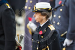 Remembrance Sunday at the Cenotaph 2015: HRH The Princess Royal. Image #284, 08 November 2015 11:14 Whitehall, London, UK