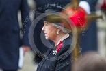 Remembrance Sunday at the Cenotaph 2015: HM The Queen during the service at the Cenotaph. Image #299, 08 November 2015 11:17 Whitehall, London, UK