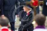Remembrance Sunday at the Cenotaph 2015: HM The Queen during the service at the Cenotaph. Image #300, 08 November 2015 11:17 Whitehall, London, UK