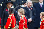 Remembrance Sunday at the Cenotaph 2015: The choir on the way back to the Foreign- and Commonwealth Office. Image #322, 08 November 2015 11:21 Whitehall, London, UK