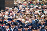 Remembrance Sunday at the Cenotaph 2015: Veterans waiting for the begin of the March Past. Image #326, 08 November 2015 11:23 Whitehall, London, UK