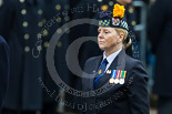 Remembrance Sunday at the Cenotaph 2015: The Angus and Perthshire Area Secretary of the Royal British Legion Scotland, Margaret Brown. Image #345, 08 November 2015 11:26 Whitehall, London, UK