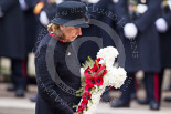 Remembrance Sunday at the Cenotaph 2015: A group I can't identify laying a wreath at the Cenotaph after the Ceremony and before the March Past. Image #354, 08 November 2015 11:30 Whitehall, London, UK