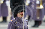 Remembrance Sunday at the Cenotaph 2015: A Foot Guards Major commanding the Foot Guards after the event. Image #363, 08 November 2015 12:29 Whitehall, London, UK
