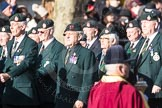 March Past, Remembrance Sunday at the Cenotaph 2016: A02 Royal Green Jackets Association. Cenotaph, Whitehall, London SW1, London, Greater London, United Kingdom, on 13 November 2016 at 12:38, image #17