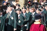 March Past, Remembrance Sunday at the Cenotaph 2016: A02 Royal Green Jackets Association. Cenotaph, Whitehall, London SW1, London, Greater London, United Kingdom, on 13 November 2016 at 12:38, image #19