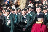 March Past, Remembrance Sunday at the Cenotaph 2016: A02 Royal Green Jackets Association. Cenotaph, Whitehall, London SW1, London, Greater London, United Kingdom, on 13 November 2016 at 12:38, image #23