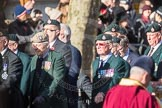 March Past, Remembrance Sunday at the Cenotaph 2016: A02 Royal Green Jackets Association. Cenotaph, Whitehall, London SW1, London, Greater London, United Kingdom, on 13 November 2016 at 12:38, image #27