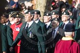 March Past, Remembrance Sunday at the Cenotaph 2016: A02 Royal Green Jackets Association. Cenotaph, Whitehall, London SW1, London, Greater London, United Kingdom, on 13 November 2016 at 12:38, image #30