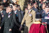 March Past, Remembrance Sunday at the Cenotaph 2016: A03 King's Own Scottish Borderers Association. Cenotaph, Whitehall, London SW1, London, Greater London, United Kingdom, on 13 November 2016 at 12:38, image #46