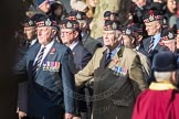 March Past, Remembrance Sunday at the Cenotaph 2016: A03 King's Own Scottish Borderers Association. Cenotaph, Whitehall, London SW1, London, Greater London, United Kingdom, on 13 November 2016 at 12:38, image #49