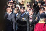 March Past, Remembrance Sunday at the Cenotaph 2016: A03 King's Own Scottish Borderers Association. Cenotaph, Whitehall, London SW1, London, Greater London, United Kingdom, on 13 November 2016 at 12:38, image #51