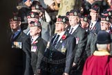March Past, Remembrance Sunday at the Cenotaph 2016: A03 King's Own Scottish Borderers Association. Cenotaph, Whitehall, London SW1, London, Greater London, United Kingdom, on 13 November 2016 at 12:38, image #52