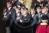 March Past, Remembrance Sunday at the Cenotaph 2016: A03 King's Own Scottish Borderers Association. Cenotaph, Whitehall, London SW1, London, Greater London, United Kingdom, on 13 November 2016 at 12:38, image #55