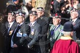 March Past, Remembrance Sunday at the Cenotaph 2016: A06 Argyll & Sutherland Highlanders Regimental Association. Cenotaph, Whitehall, London SW1, London, Greater London, United Kingdom, on 13 November 2016 at 12:39, image #76