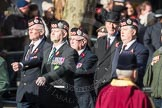 March Past, Remembrance Sunday at the Cenotaph 2016: A06 Argyll & Sutherland Highlanders Regimental Association. Cenotaph, Whitehall, London SW1, London, Greater London, United Kingdom, on 13 November 2016 at 12:39, image #78