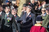 March Past, Remembrance Sunday at the Cenotaph 2016: A06 Argyll & Sutherland Highlanders Regimental Association. Cenotaph, Whitehall, London SW1, London, Greater London, United Kingdom, on 13 November 2016 at 12:39, image #79
