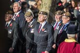 March Past, Remembrance Sunday at the Cenotaph 2016: 07 Scots Guards Association. Cenotaph, Whitehall, London SW1, London, Greater London, United Kingdom, on 13 November 2016 at 12:39, image #84