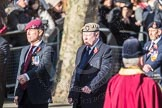 March Past, Remembrance Sunday at the Cenotaph 2016: A09 4 Company Association (Parachute Regiment). Cenotaph, Whitehall, London SW1, London, Greater London, United Kingdom, on 13 November 2016 at 12:39, image #99