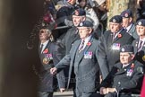 March Past, Remembrance Sunday at the Cenotaph 2016: A11 The Royal Hampshire Regimental Club. Cenotaph, Whitehall, London SW1, London, Greater London, United Kingdom, on 13 November 2016 at 12:39, image #102