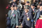 March Past, Remembrance Sunday at the Cenotaph 2016: A11 The Royal Hampshire Regimental Club. Cenotaph, Whitehall, London SW1, London, Greater London, United Kingdom, on 13 November 2016 at 12:39, image #103