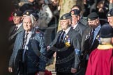 March Past, Remembrance Sunday at the Cenotaph 2016: A11 The Royal Hampshire Regimental Club. Cenotaph, Whitehall, London SW1, London, Greater London, United Kingdom, on 13 November 2016 at 12:39, image #105