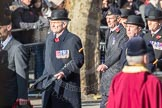 March Past, Remembrance Sunday at the Cenotaph 2016: A12 Green Howards Association. Cenotaph, Whitehall, London SW1, London, Greater London, United Kingdom, on 13 November 2016 at 12:40, image #109