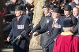 March Past, Remembrance Sunday at the Cenotaph 2016: A12 Green Howards Association. Cenotaph, Whitehall, London SW1, London, Greater London, United Kingdom, on 13 November 2016 at 12:40, image #110