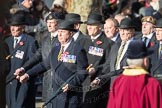 March Past, Remembrance Sunday at the Cenotaph 2016: A12 Green Howards Association. Cenotaph, Whitehall, London SW1, London, Greater London, United Kingdom, on 13 November 2016 at 12:40, image #111