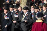 March Past, Remembrance Sunday at the Cenotaph 2016: A12 Green Howards Association. Cenotaph, Whitehall, London SW1, London, Greater London, United Kingdom, on 13 November 2016 at 12:40, image #112