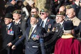March Past, Remembrance Sunday at the Cenotaph 2016: A12 Green Howards Association. Cenotaph, Whitehall, London SW1, London, Greater London, United Kingdom, on 13 November 2016 at 12:40, image #114