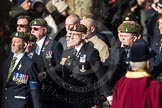 March Past, Remembrance Sunday at the Cenotaph 2016: A12 Green Howards Association. Cenotaph, Whitehall, London SW1, London, Greater London, United Kingdom, on 13 November 2016 at 12:40, image #115