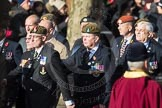March Past, Remembrance Sunday at the Cenotaph 2016: A12 Green Howards Association. Cenotaph, Whitehall, London SW1, London, Greater London, United Kingdom, on 13 November 2016 at 12:40, image #116