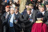 March Past, Remembrance Sunday at the Cenotaph 2016: A12 Green Howards Association. Cenotaph, Whitehall, London SW1, London, Greater London, United Kingdom, on 13 November 2016 at 12:40, image #118