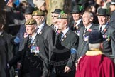 March Past, Remembrance Sunday at the Cenotaph 2016: A12 Green Howards Association. Cenotaph, Whitehall, London SW1, London, Greater London, United Kingdom, on 13 November 2016 at 12:40, image #119