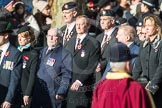March Past, Remembrance Sunday at the Cenotaph 2016: A14 Sherwood Foresters & Worcestershire Regiment. Cenotaph, Whitehall, London SW1, London, Greater London, United Kingdom, on 13 November 2016 at 12:40, image #124