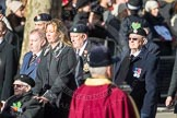 March Past, Remembrance Sunday at the Cenotaph 2016: A14 Sherwood Foresters & Worcestershire Regiment. Cenotaph, Whitehall, London SW1, London, Greater London, United Kingdom, on 13 November 2016 at 12:40, image #126