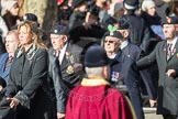 March Past, Remembrance Sunday at the Cenotaph 2016: A14 Sherwood Foresters & Worcestershire Regiment. Cenotaph, Whitehall, London SW1, London, Greater London, United Kingdom, on 13 November 2016 at 12:40, image #127
