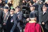 March Past, Remembrance Sunday at the Cenotaph 2016: A14 Sherwood Foresters & Worcestershire Regiment. Cenotaph, Whitehall, London SW1, London, Greater London, United Kingdom, on 13 November 2016 at 12:40, image #128