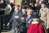 March Past, Remembrance Sunday at the Cenotaph 2016: A15 The King's Own Royal Border Regimen. Cenotaph, Whitehall, London SW1, London, Greater London, United Kingdom, on 13 November 2016 at 12:40, image #130