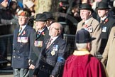 March Past, Remembrance Sunday at the Cenotaph 2016: A15 The King's Own Royal Border Regimen. Cenotaph, Whitehall, London SW1, London, Greater London, United Kingdom, on 13 November 2016 at 12:40, image #131