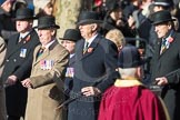 March Past, Remembrance Sunday at the Cenotaph 2016: A15 The King's Own Royal Border Regimen. Cenotaph, Whitehall, London SW1, London, Greater London, United Kingdom, on 13 November 2016 at 12:40, image #134